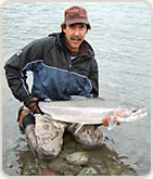 Ted DeJong, Guide at Kalum River Lodge in conjunction with Fish Skeena